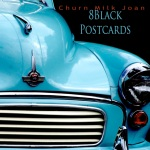 8 Black Postcards